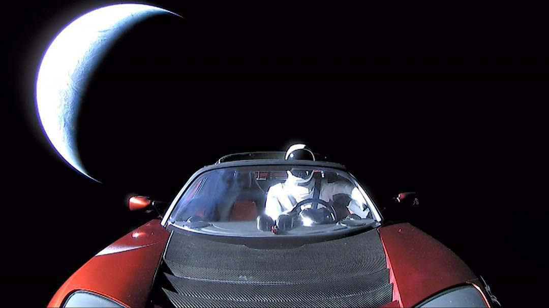 Musk posted a farewell photo of the roadster on Instagram on Thursday, February 8.