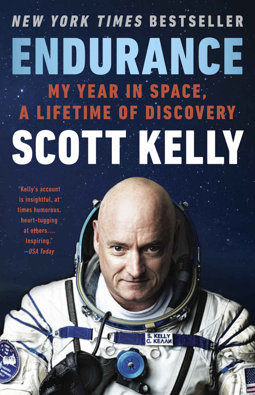 Scott Kelly's year in space on the ISS.