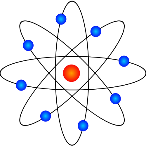 2-particle atom diagram