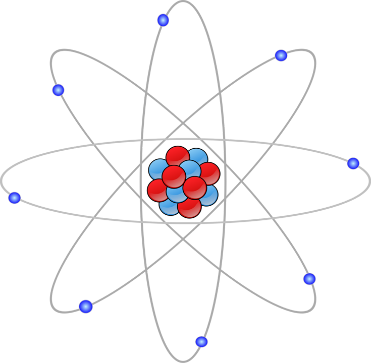 3-particle atom diagram