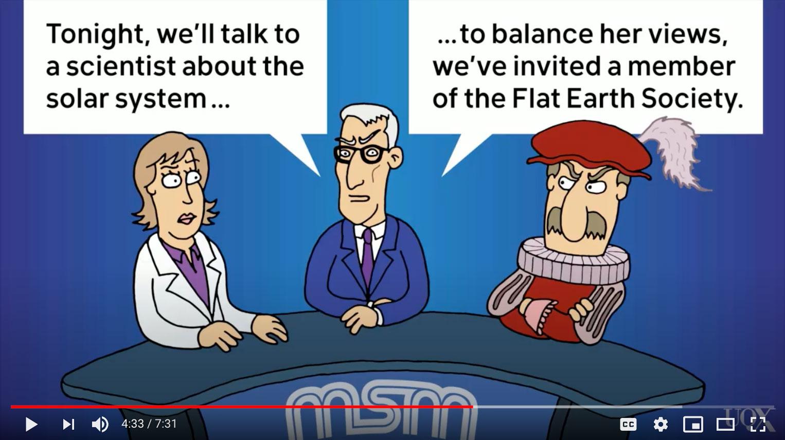 The appearance of a legitimate debate