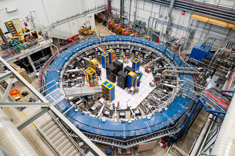 The g-2 experiment at Fermilab